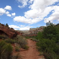 GSENM Lower Calf Creek Falls Trail 201409 UT001